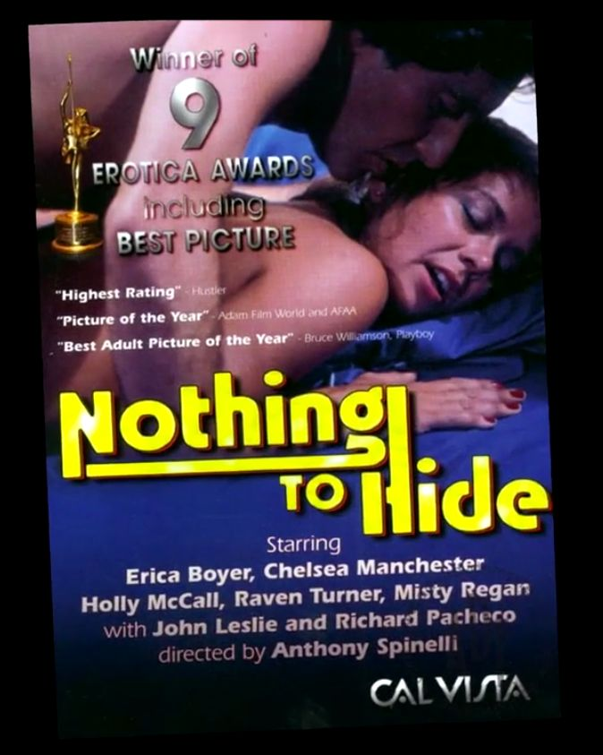 """Fishbein says 1981's """"Nothing To Hide"""" is the best porn film of all time because it has good acting and a sweet romance that"""