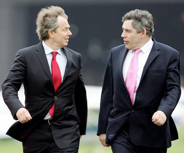 Tony Blair and Gordon