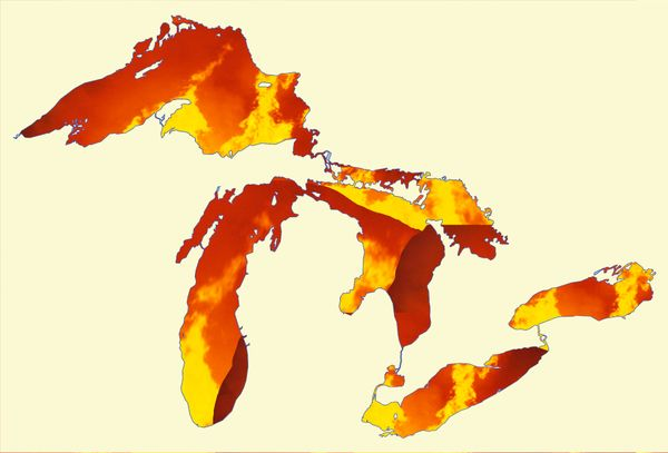 Who says large bodies of water can't be reduced to ashes? #LakesAmericaGreatAgain