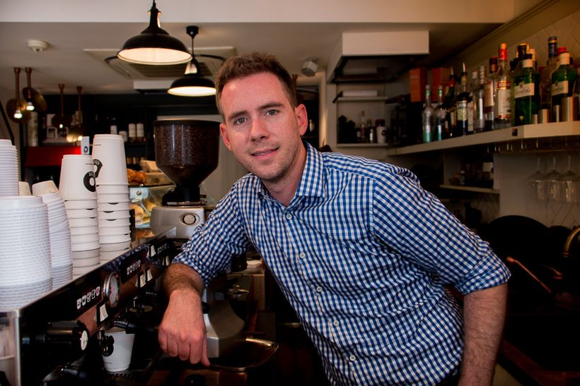 """<strong>Michael Sheahan</strong>, Founder of <a href=""""http://www.shotespresso.com/"""" target=""""_blank"""">Shot Espresso</a><br><i>S"""