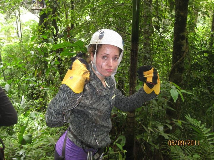 Facing fears zip lining through the jungles of Costa Rica!