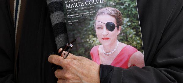 Syria's Bashar Assad Blames Journalist Marie Colvin For Her Own Death