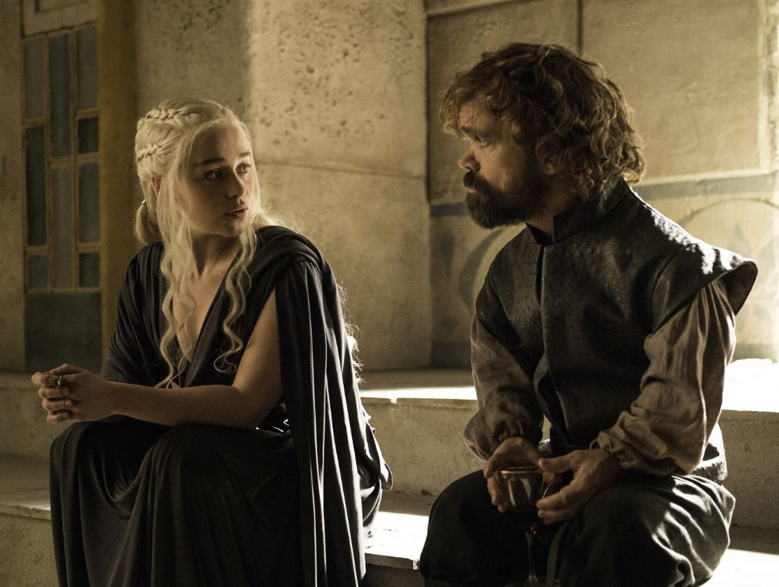 Daenerys and Tyrion surely have enough plotline to go off on their