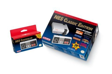 Nintendo Entertainment System: NES Classic Edition.
