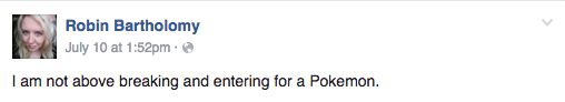 This is not behavior fit for a top level Pokemon trainer.