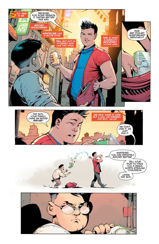 A New Chinese Superman Is Busting Stereotypes About What A Hero Looks
