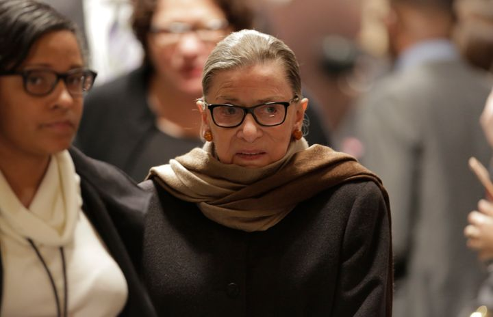 Supreme Court Justice Ruth Bader Ginsburg has been caught up in a war of words with Donald Trump in the past week.