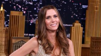 THE TONIGHT SHOW STARRING JIMMY FALLON -- Episode 0499 -- Pictured: Actress Kristen Wiig on July 13, 2016 -- (Photo by: Andrew Lipovsky/NBC/NBCU Photo Bank via Getty Images)