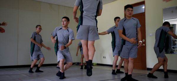 South Korean Soldiers On Buffer Zone With North Korea Combat Stress With Ballet Classes