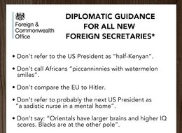 REVEALED: Boris Johnson's New Job Instructions From The Foreign Office