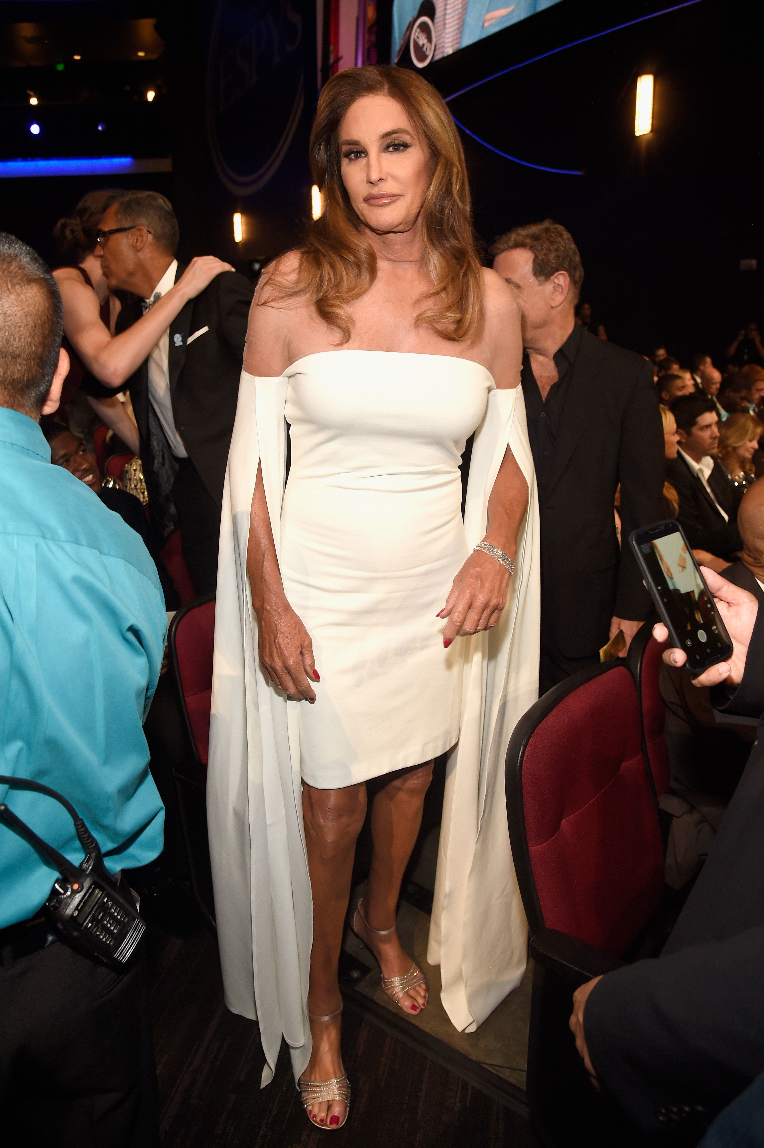 LOS ANGELES, CA - JULY 13: TV personality Caitlyn Jenner attends the 2016 ESPYS at Microsoft Theater on July 13, 2016 in Los Angeles, California.  (Photo by Kevin Mazur/Getty Images)