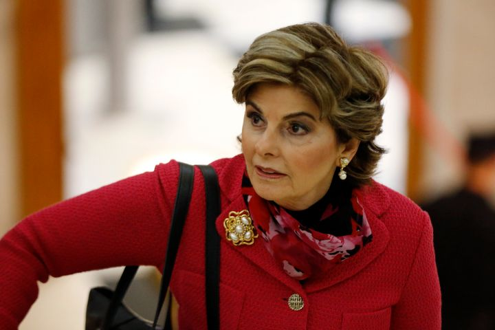 Gloria Allred arrives for Bill Cosby's preliminary hearing May 24, 2016, in Norristown, Pennsylvania.