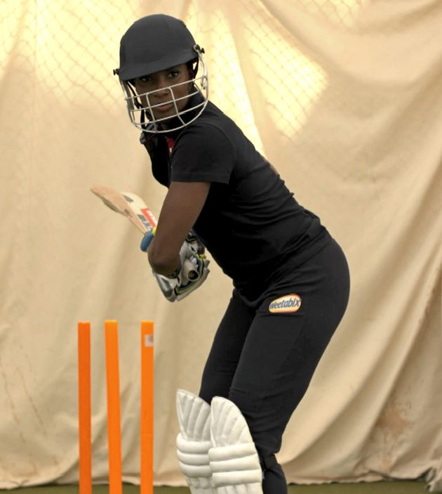 Denise has turned her hand to women's cricket for Sporting