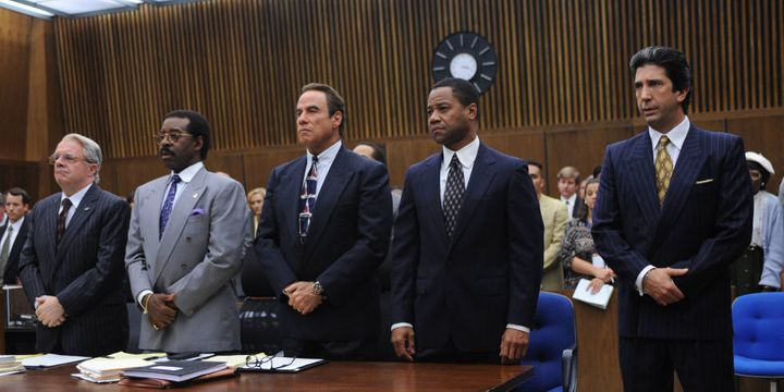 "Part of the cast from ""American Crime Story"""