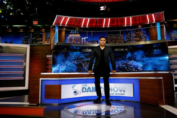"Jon Stewart's ""Daily Show"" blazed through the Emmys throughout the bulk of its run, but in Trevor Noah's hands, the TV Academ"