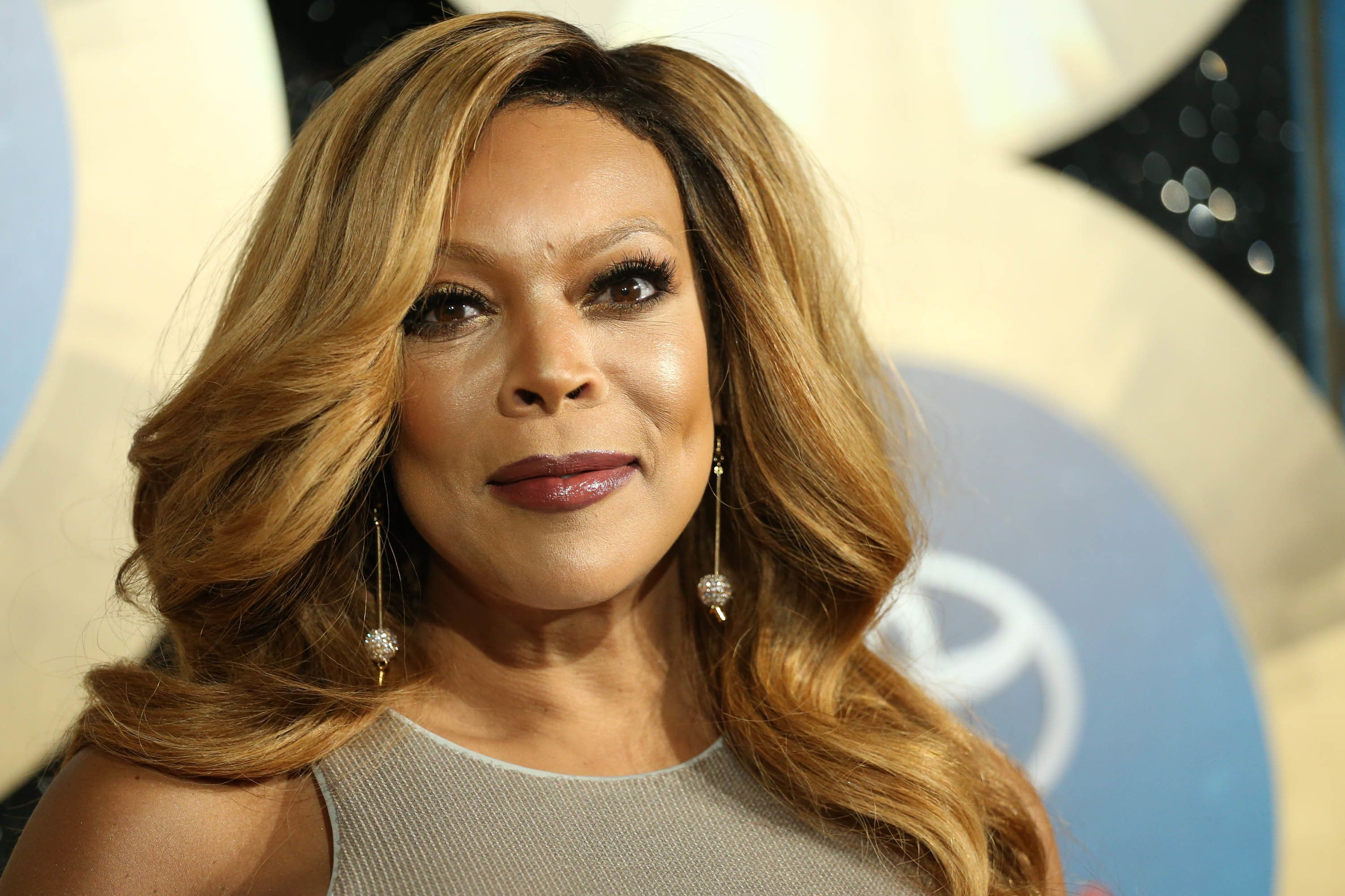 "FILE - In this Nov. 7, 2014, file photo, TV talk show host Wendy Williams arrives during the 2014 Soul Train Awards in Las Vegas. Williams has hosted her own talk show since 2008. Williams blatantly stole the ""Hot Topics"" idea from, ""The View"" and expanded the amount of time she chats about pop culture and current events. Monday's shows are entirely devoted to ""Hot Topics."" (Photo by Omar Vega/Invision/AP, File)"