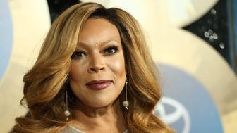 """FILE - In this Nov. 7, 2014, file photo, TV talk show host Wendy Williams arrives during the 2014 Soul Train Awards in Las Vegas. Williams has hosted her own talk show since 2008. Williams blatantly stole the """"Hot Topics"""" idea from, """"The View"""" and expanded the amount of time she chats about pop culture and current events. Monday's shows are entirely devoted to """"Hot Topics."""" (Photo by Omar Vega/Invision/AP, File)"""