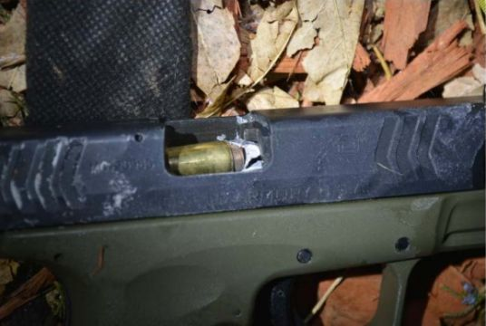 The bullet shot by Colorado sheriff's deputy Jose Marquez collided with a cartridge in the suspect's gun.