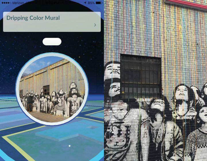 Dripping Color MuralPokéstop