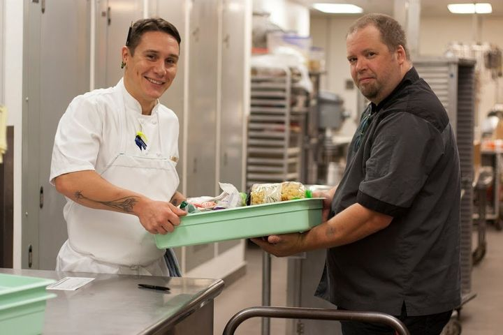 TASTE restaurant at Seattle Art Museum working with nonprofit partners to donate excess food to people in need through Food L