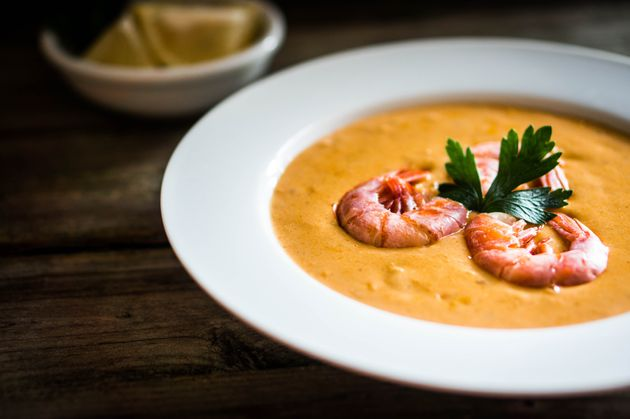 Trying seafood for the first time? Eating it as part of a bisque can be a good way to ease into it, McComsey
