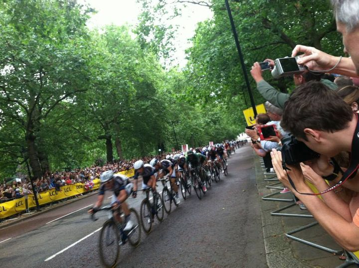 Stage 3 finish in London July 2014