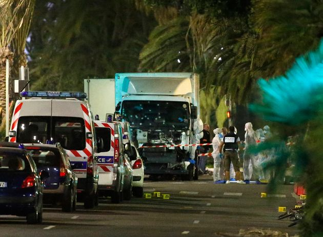 Horrifying Footage Captures The Moment Truck Plow Through Nice