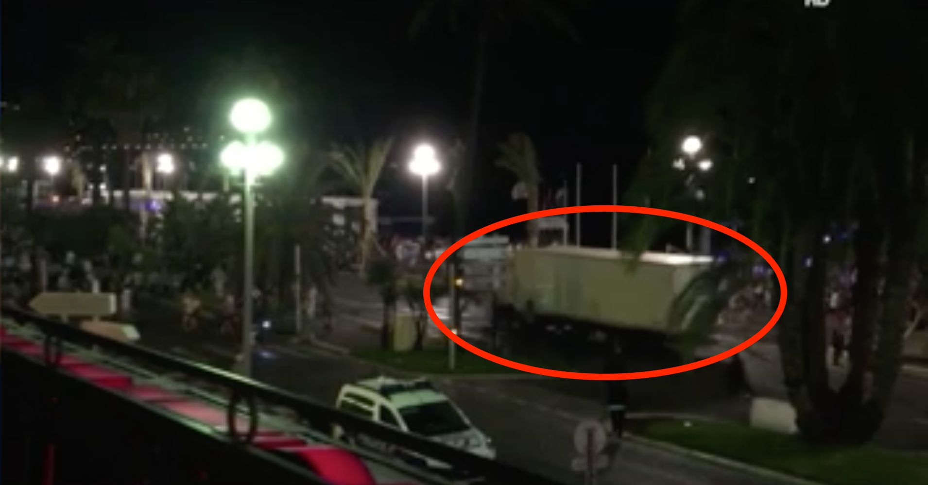 Truck Barreled Zigzagged Into Nice Crowd Video