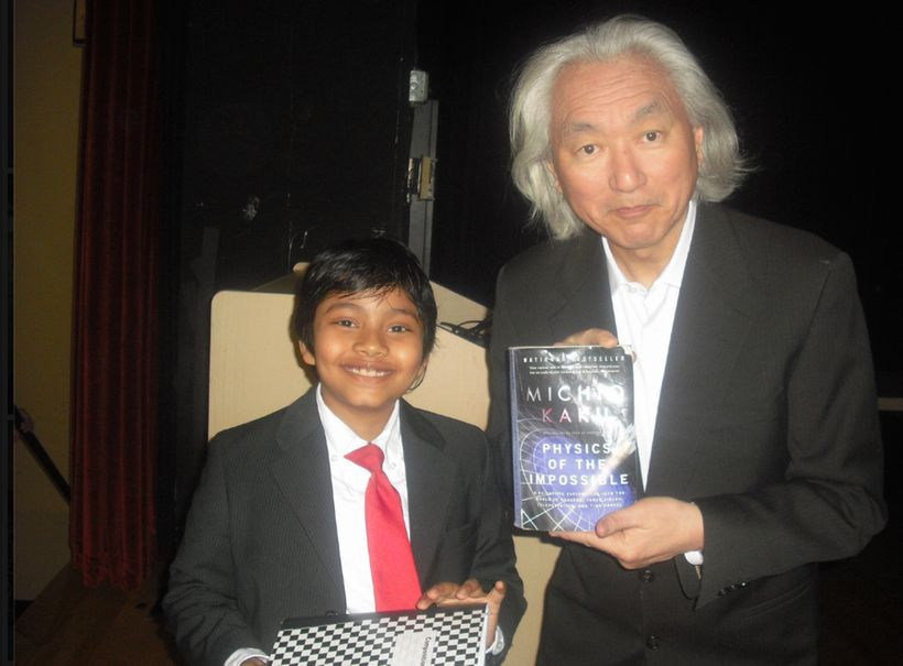 "Make Islam Great Again Campaign: Albert, also known as the ""13 year-old SAT expert"" started sitting in college classrooms at"