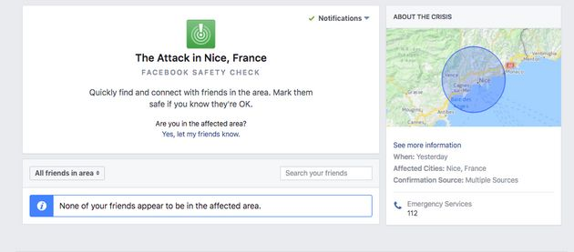 A Facebook safety feature has been rolled