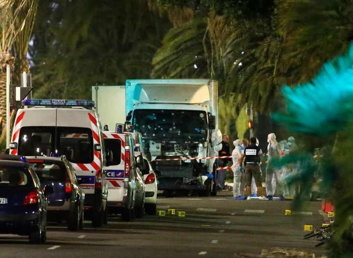 At least 84 people were killed after a truck was deliberately plowed into a crowd of people in Nice, France, on Thursday nigh