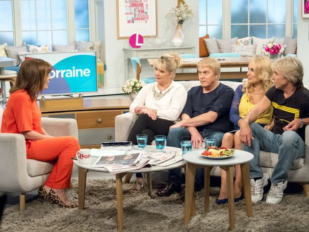 Cheryl appeared on Friiday's 'Lorraine' with her Fizz