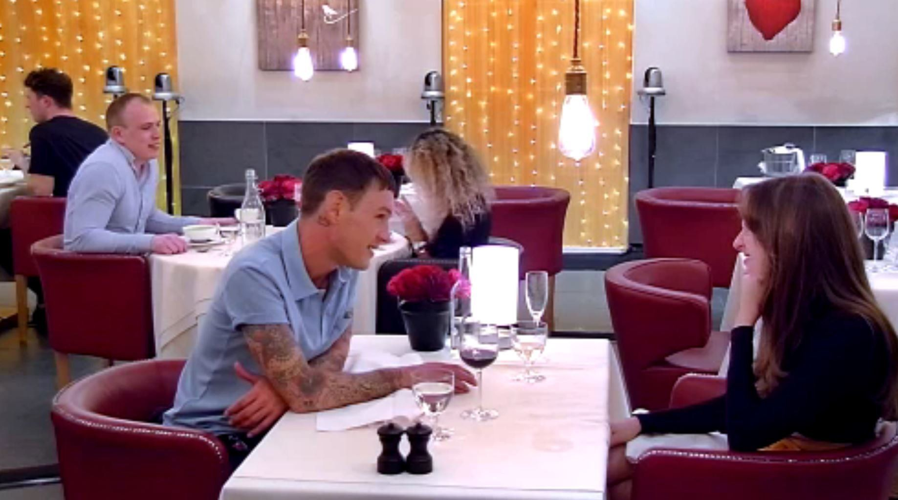 Preston will be seen on 'First Dates'