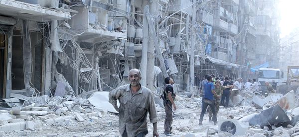 Video Shows Horror Of Life Under Barrel Bombs In Syria