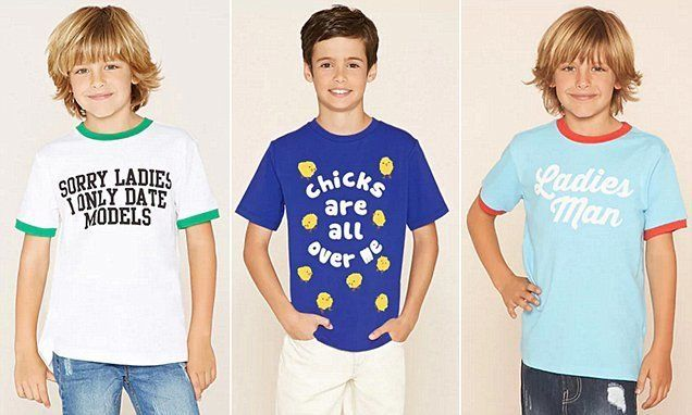 Forever 21 Pulls Range Of 'Sexist' T-Shirts For Young