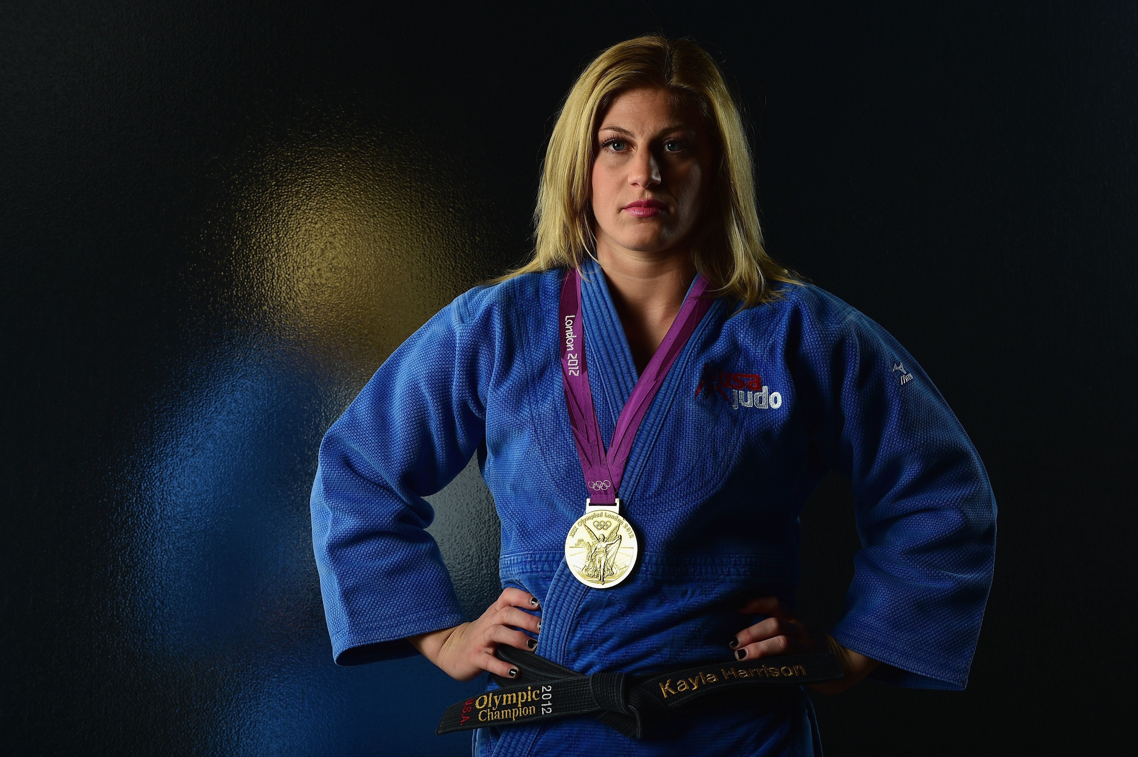 At the 2012 Games, Kayla Harrison's sole goal was to seal the gold. Now, she's fighting for so much more.
