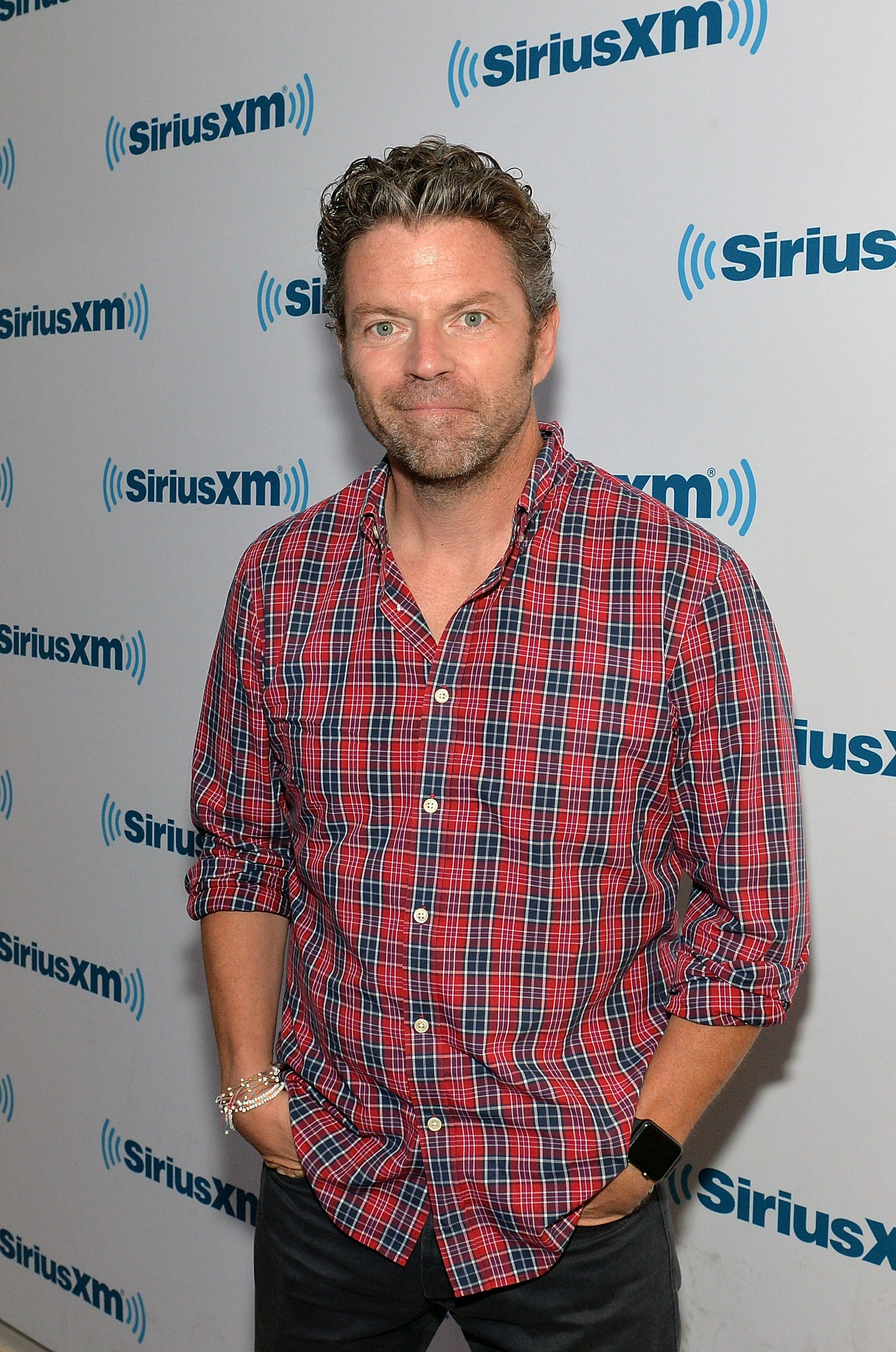 NEW YORK, NY - JUNE 27:  (EXCLUSIVE COVERAGE) TV personality Dave Holmes visits SiriusXM Studios on June 27, 2016 in New York City.  (Photo by Slaven Vlasic/Getty Images)