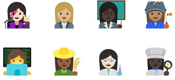 Professional Emojis Are No Longer Men Only
