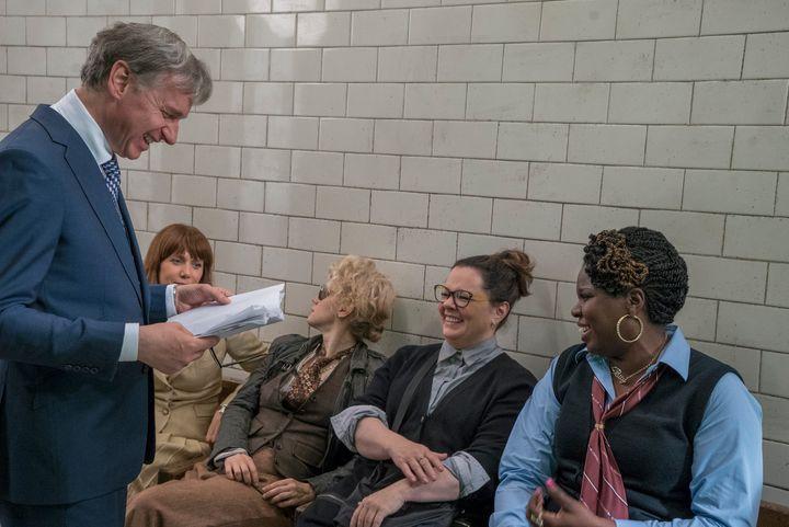 "Paul Feig, Kristen Wiig, Kate McKinnon, Melissa McCarthy and Leslie Jones are just as joyful about ""Ghostbusters"" as you shou"