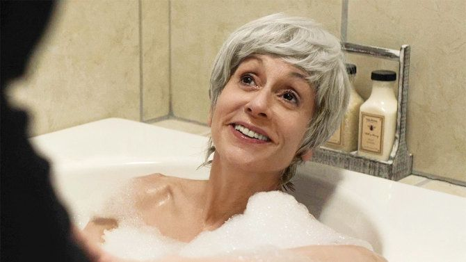 "Judith Light in her groundbreaking scene in ""Transparent."""