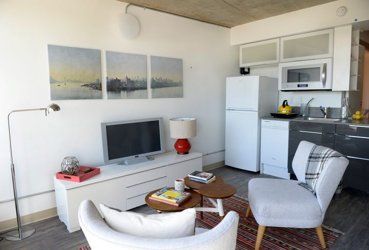 This apartment, in the Turntable Studios complex in Denver, is 345 square feet. As rents skyrocket, demand is growing for&nbs
