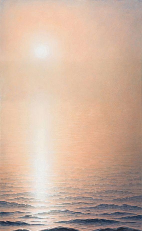 Marina Moevs, <i>Fog IV</i>, 2007, oil on canvas, 78&rdquo; x 48&rdquo;