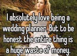 15 Juicy Confessions Wedding Planners Wouldn't Say To Your Face