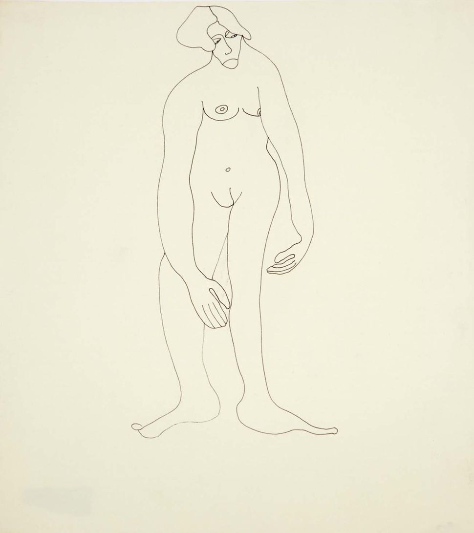 Untitled, 1972, ink on paper.