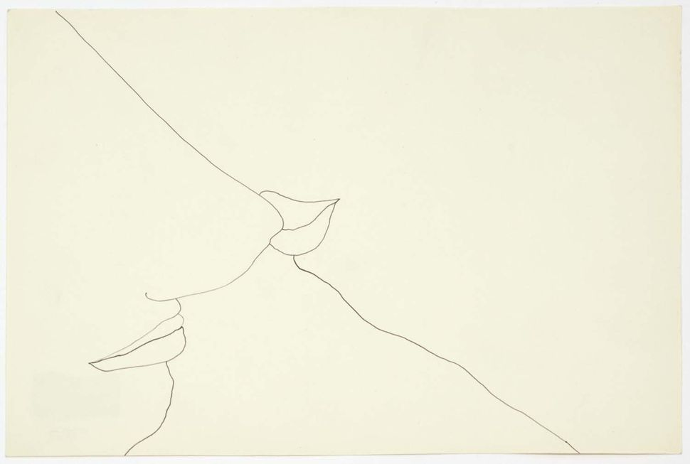 Quelques minutes, 1972, ink on paper.
