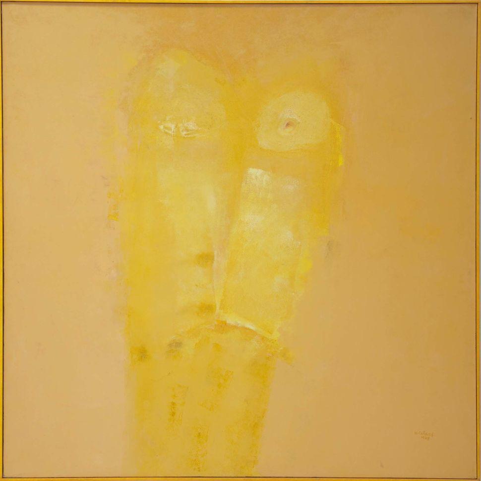 Untitled (Ed), 1988, oil on linen.