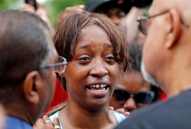 Diamond Reynolds, girlfriend of Philando Castile, who was fatally shot by police on July 6, recounts...