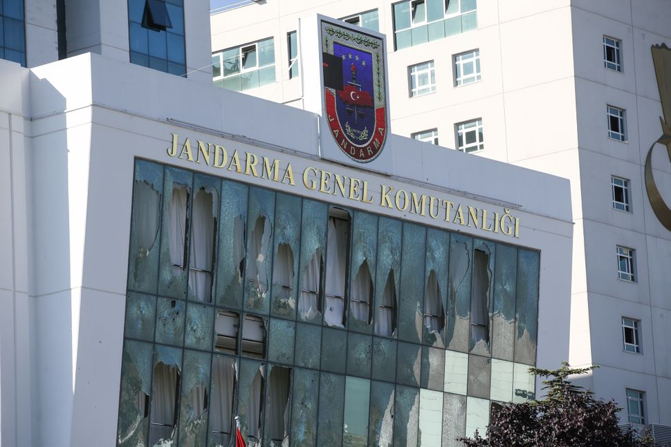A view of Gendarmerie General Command's building.