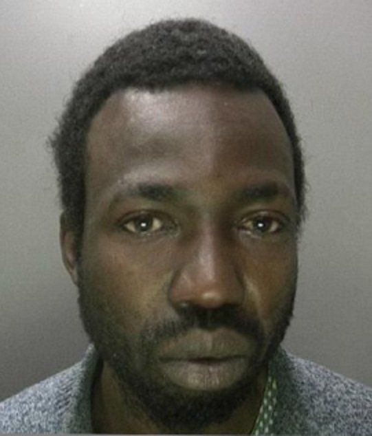 Kamayi Matumona broke into a little dance after stealing the money from a car in Birmingham, England.