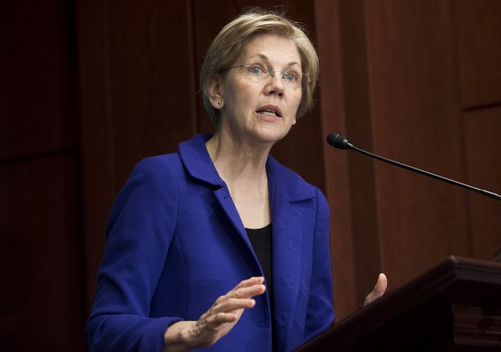 Sen. Elizabeth Warren (D-Mass.) had some strong words for Republican Vice Presidential candidate and Indiana Gov. Mike Pence.